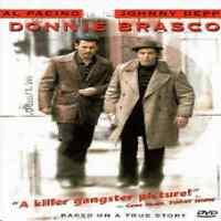 Donnie Brasco (DVD, 1998) Al Pacino, Johnny Depp Brand NEW