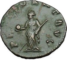 GALLIENUS son of Valerian I Ancient Roman Coin Forethought Goddes Cult  i34079