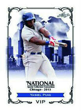 2013 National Convention LEAF EXCLUSIVE VIP YASIEL PUIG Dodgers Rookie PRESELL