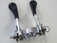 Huret Jubilee Shifter Set Clamp Down Tube Vintage Road Bike NOS