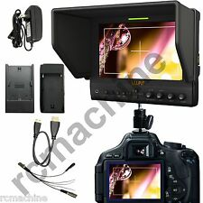"Lilliput 7""663/P IPS Peaking Focus HDMI IN 1080P Monitor TALLY Canon 5D2 5D3 III"