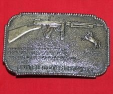 Colt Firearms Thompson Machine Gun Belt Buckle