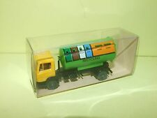 CAMION MERCEDES BENZ 814 RECYCLING CONTAINER WIKING HO 1:87