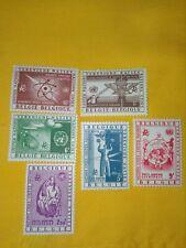 STAMPS - TIMBRE - POSTZEGELS - BELGIQUE - BELGIE 1958 NR PA30/35 **( ref 507)