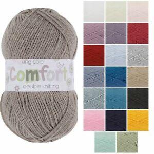 King Cole Baby Comfort DK Acrylic/Nylon Knitting Wool - 100g