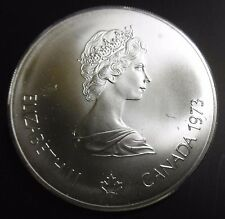 CANADA - 5 DOLLARS 1976 JO MONTRÉAL Voiliers - REINE ELIZABETH II -  Argent N°2