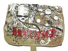 NUOVO AMPLIFICATO unisex Cachi Tela overbody MESSENGER SATCHEL teschi design bag
