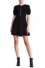 Marc by Marc Jacobs Seamed Zip Shift Dress Black Size 10