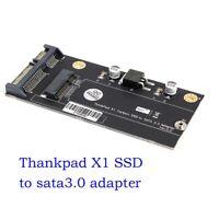 "X1 Carbon 20+6 Pin 26 Pin SSD to 2.5"" SATA Adapter Card for Lenovo Thinkpad"