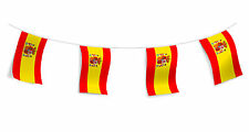 Spain Flag Bunting Spanish Football International Banner Decoration 10 Metres
