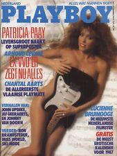 Dutch Playboy Magazine 1986-11 Chantal Aarts, Silvana Suarez, Lucienne Bruinooge