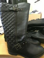 SOLE DIVA  QUILTED buckle Boots  uk size 4 (37) brand new