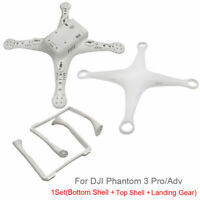 3 Pcs Body Shell Top Bottom Cover Landing Gear Repair Set For DJI Phantom Drone