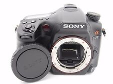 Sony SLT-A77 24.3MP 3''Screen Digital SLR Camera Body w. Accessories