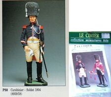 q Le Cimier 90mm - Guerre Napoleoniche - CARABINIERE a cavallo FRANCESE, 1804