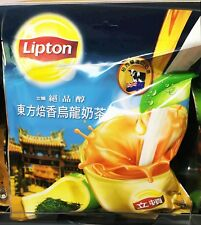 Lipton instant milk tea powder +oolong tea eastern-style quality mellow 18 packs