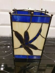 Beautiful Stained Glass Type Ceiling Light Shade.