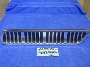 1958 Mercury Monterey Montclair Rear Bumper Opening Ornament NOS ?