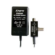 PSK06F 14V DC 150Ma Power Supply 'F' Type Kingray 14V DC 150MA POWER SUPPLY