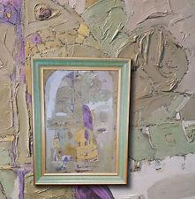 « tanzfiguren « russe Post Avant-Garde peinture à l'HUILE , signé Lasarev
