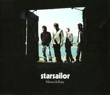 Starsailor – Silence Is Easy (EMI Records, 7243 552980 2 7) [CD Single]