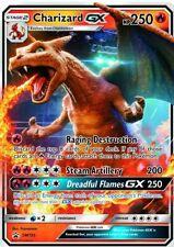x1 Charizard Gx - Sm195 - Sm Black Star Promo Pokemon Pokemon Promos M/Nm