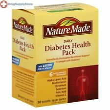 Nature Made  Diabetic Health Pack  Pack 30 ct