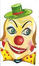 Maschera di CARNEVALE  (  B 01 )  anni '60  -  PAGLIACCIO