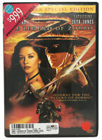 The Legend of Zorro DVD Widescreen Special Edition Movie USED Previously Viewed
