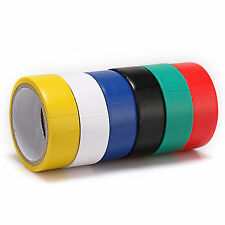Neu Typ 6 Rollen sie jedes Farbe Elektrisch PVC Isolierband 17mm (B) x 300mm (I)
