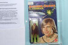 Battlestar Galactica ,L.t STARBUCK UKG/MOC /AFA 80 Graded Mattel 1978