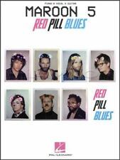 Maroon 5 Red Pill Blues Piano Vocal Guitar Sheet Music Book Best 4 U Wait Cold