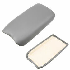For 06-11 Honda Civic Car Gray Leather Console Lid Armrest Complete Cover Kit