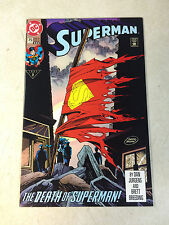 SUPERMAN #75 DEATH SUPERMAN, 1993, KEY ISSUE, DOOMSDAY, NM!!!