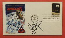 1961 Astronaut Jim Lovell Signed Fdc #1371 Apollo 8 Fleetwood Cachet