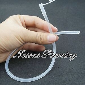 sound catheter medical grade silicone flexible medical princes wand