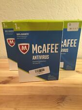 McAfee || Antivirus || 1 Device || 1 year Subscription || Brand NEW || Lot of 3
