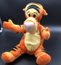 "DISNEY TIGGER PLUSH  2001 FISHER PRICE 9"" PLUSH TOY Soft And Silly Tigger"