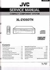 Servicio Manual de instrucciones para JVC xl-z1050 TN