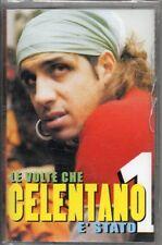 ADRIANO CELENTANO MC7 LE VOLTE CHE E STATO 1  musicassetta originale SIGILLATA