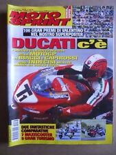 MOTOSPRINT n°32/33  2002   [Q29] CON POSTER 100 GRAN PREMI VALENTINO ROSSI