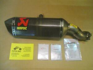 Auspuff exhaust Akrapovic slip on Titanium Kawasaki ZX10R 16-19 S-K10SO16-HZC