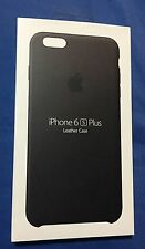 New Apple Leather Case for iPhone 6s Plus / 6 Plus - Black - MKXF2ZM/A