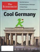 THE ECONOMIST MAGAZINE  APRIL 14-20TH 2018 COOL GERMANY NEW & UNREAD SHIPS FREE