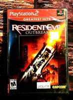 Resident Evil: Outbreak - PS2 - Sony PlayStation 2 - Brand NEW - Sealed