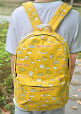 "Gudetama yellow egg mix 13"" backpack shoulder bag laptop bags  UT208 vivid new"