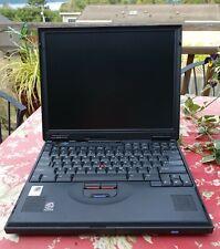 IBM ThinkPad 600E Type 2645 PII-400, 544MB, 40GB, Windows 98se, Vintage