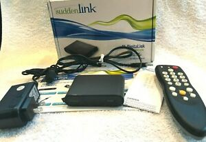Sudden Link DC732 w/ Remote Power Cord & Instruction Manual - Tested Working