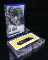 GG Allin Suicide Sessions Cassette Tape TPOS 087 G.G.'s Would-Be Final Take 1989