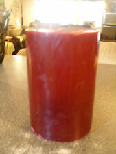 Partylite RASPBERRY 3-wick candle  large 6 x 9  XTRA TALL
